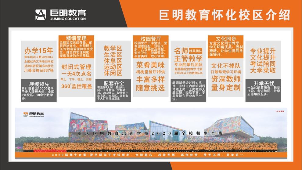 巨明教育湖南怀化校区介绍