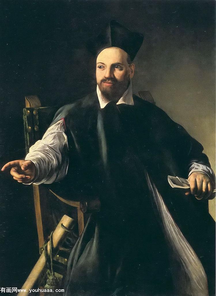玛费洛·巴贝里尼大人的画像,米开朗基罗·梅里西·德·卡拉瓦乔