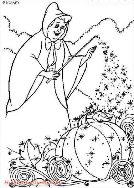 5张迪斯尼之灰姑娘简笔画图片