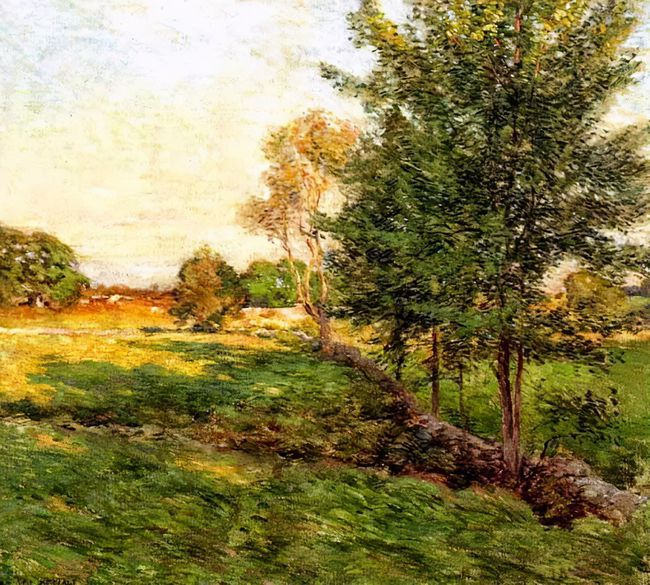 自然的真意和力量,这个美国画家平生专注于风景油画的创作