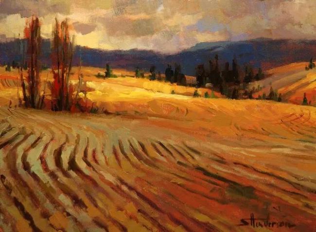 美国著名画家史蒂夫·亨德森 绚丽的风景油画欣赏