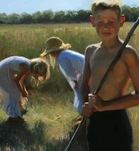 美国画家Jeffrey T. Larson超写实油画作品欣赏